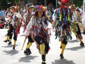 Morris_dancers_during_well_dressing,_Etwall_-_geograph_org_uk_-_505411