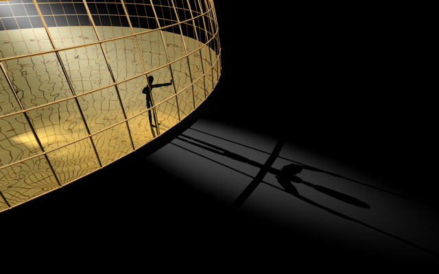 Image: Golden Cage by Der Cooky