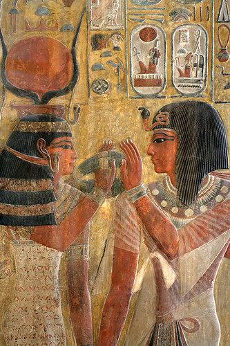 Seti I & Hathor