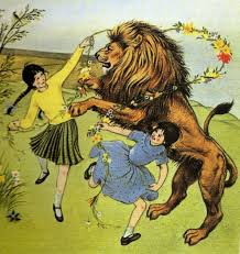 Cover art by Pauline Baynes, The Lion, The Witch and the Wardrobe