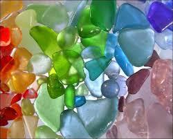 sea glassx3