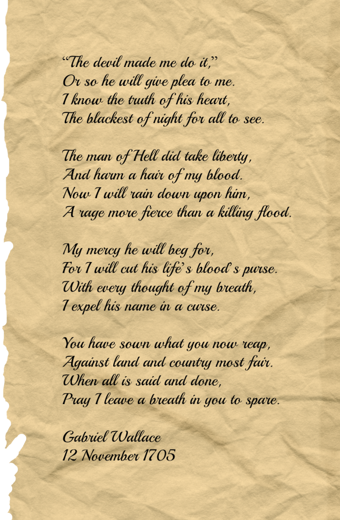 Gabriel Wallace poem by Ronovan Hester