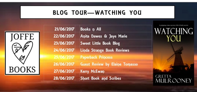Blog Tour Banner - Watching You