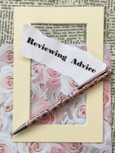 Reviewing advice